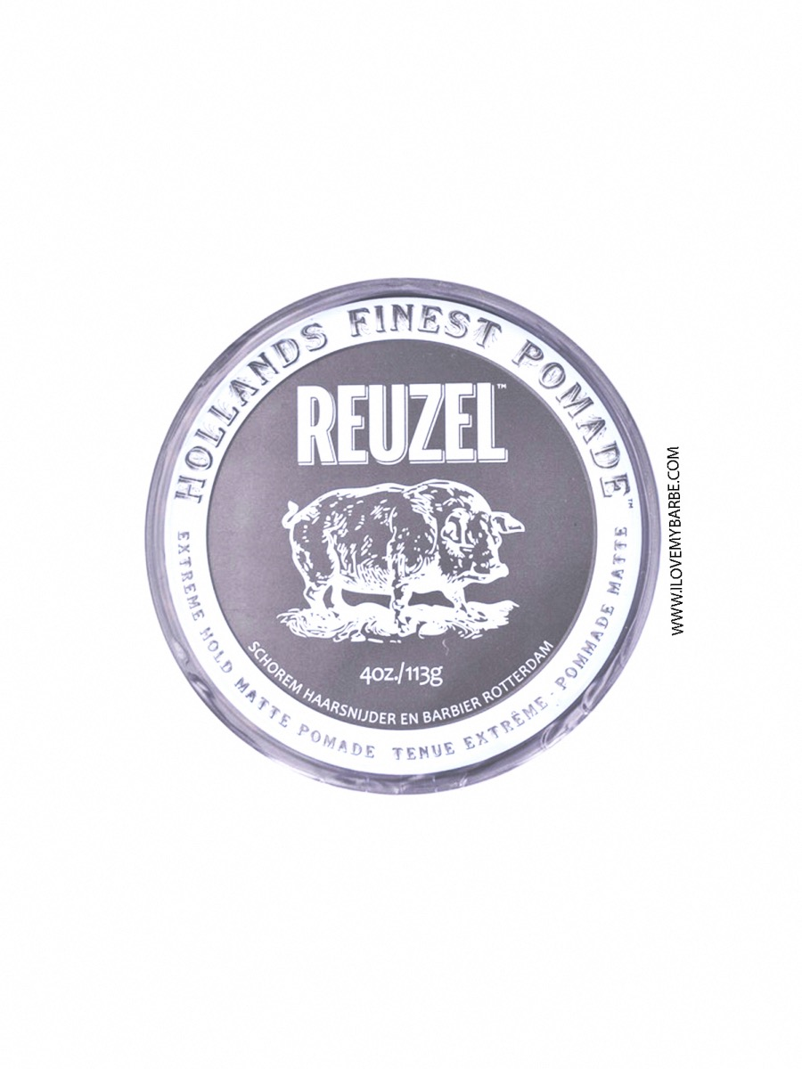 Cire Cheveux Reuzel Extreme Hold Matte 113gr I Love My Barbe 62